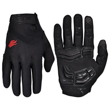 FIRELION Shock Absorbing Gel Pad Breathable MTB Gloves