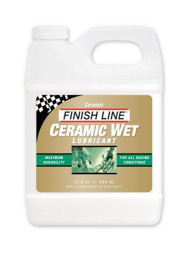 Finish Line Ceramic Wet Bicycle MTB Chain Lube