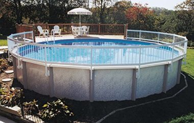 GLI Above Ground Base Kit Pool Fence