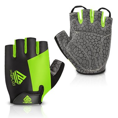 HTZPLOO Lightweight Half Finger Mountain Biking MTB Gloves