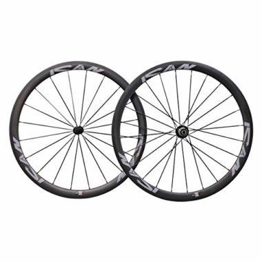ICAN Lightweight Basalt Road Bike Wheels