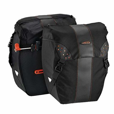 Ibera PakRak Clip-On All Weather Panniers for Touring
