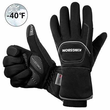 KINGSBOM Thinsulate Thermal Winter Cycling Gloves