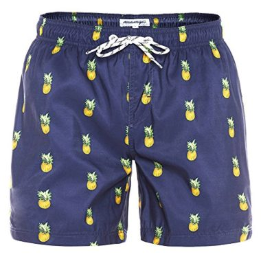 MaaMgic Slim Fit Men's Swim Trunks