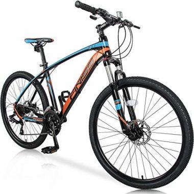 Merax Lightweight Aluminum Frame Big Guy Mountain Bike