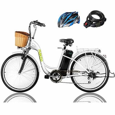 NAKTO Cargo Waterproof Battery Electric Bicycle