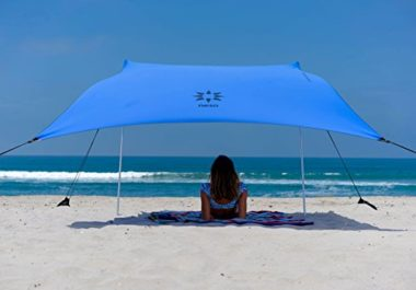Neso Tents with Sand Anchor Beach Canopy