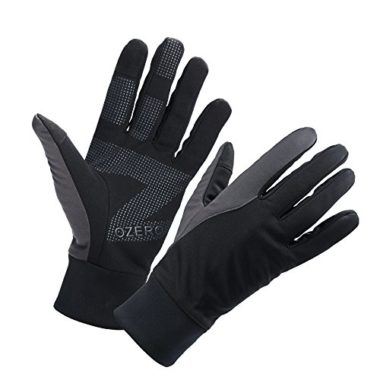 OZERO Men's Water Resistant Thermal Winter Cycling Gloves
