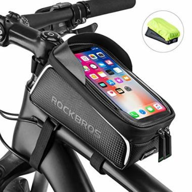 ROCK BROS Waterproof Phone Mount Top Tube Bag