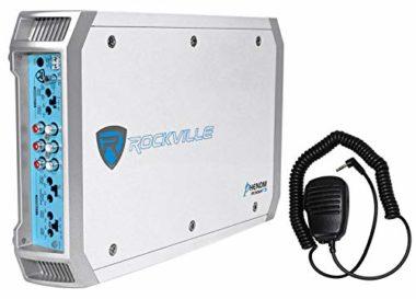 Rockville 4 Channel 1600 Watts Rms Marine Amplifier