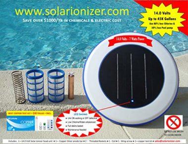 Sooriyan LED Solar Pool Ionizer
