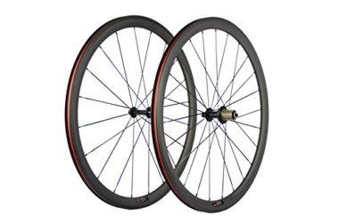 SunRise Super Light Carbon Road Bike Wheels