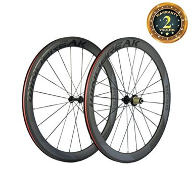 SunRise Matte Carbon Road Bike Wheels