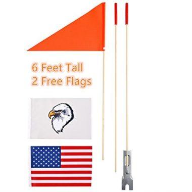 Uelfbaby Heavy Duty Kayak Flag