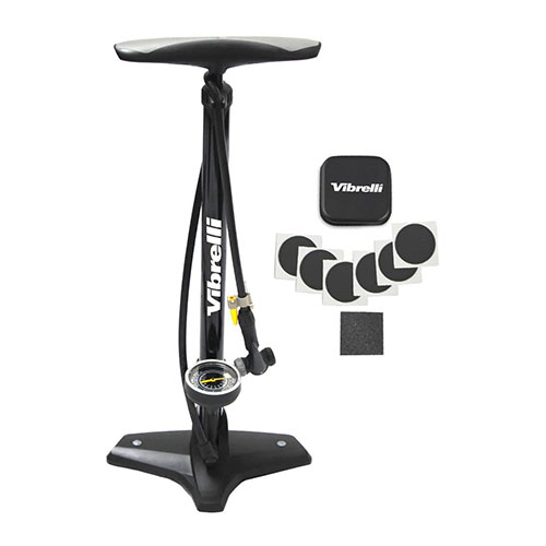 Vibrelli Bike Floor Pump