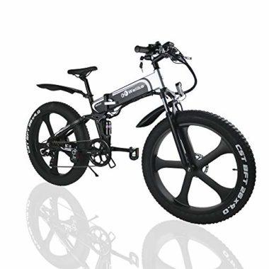 W Wallke Folding Electric Big Guy Mountain Bike