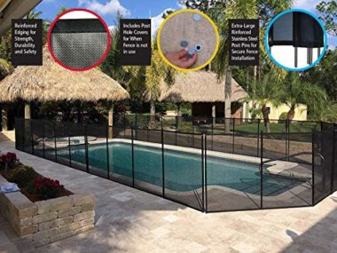 Water Warden Removable Pool Fence