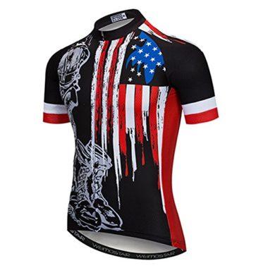 Weimostar Men's USA Cycling Jersey