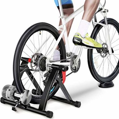 Yaheetech Fluid Indoor Exercise Bike Turbo Trainer