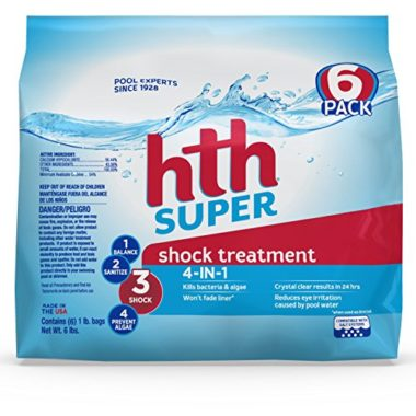 hth Super Shock Treatment 4-in-1 Pool Shock