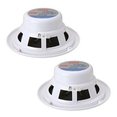 Pyle 6.5 Inch Waterproof Full Range Dual Marine Speakers