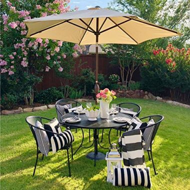 Abba Patio Outdoor Aluminum Market Pool Umbrella