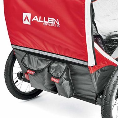 Allen Sports Deluxe Bike Trailer For Kids