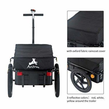 Aosom Cargo Bike Trailer