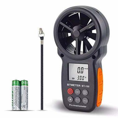 BTMETER BT-100 Digital Handheld Anemometer