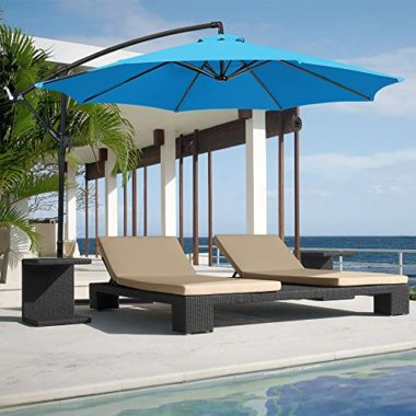 Best Choice Products Solar-Powered Pool Umbrella