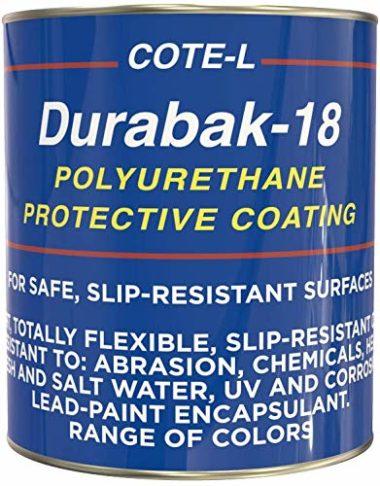Durabak 18 Non Slip Coating Deck Paint for Boats