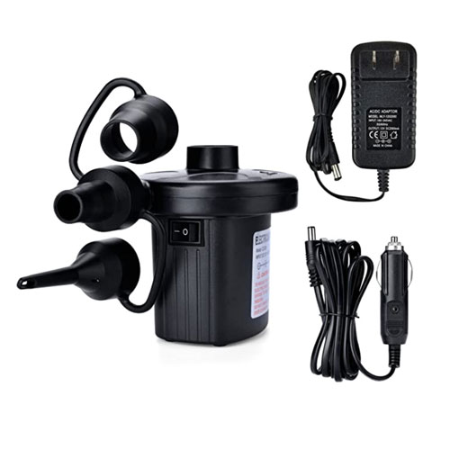 AGPTEK Quick Fill Electric Air Pump for Inflatables