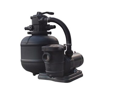XtremepowerUS Sand Filter Above Ground Pool Pump