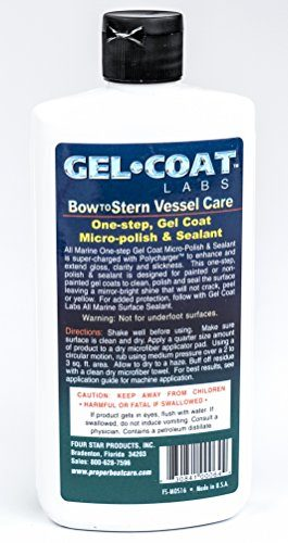 Gel Coat Labs One-Step Gel Coat Sealant and Boat Polish