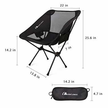 Moon Lence Outdoor Ultralight Portable Folding Camping Chair