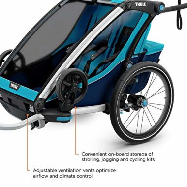 Thule Chariot Cross 2 Bike Trailer For Kids