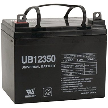 Universal Power Group D5722 Sealed Lead Acid Marine Battery