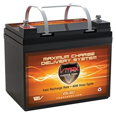 VMAX V35-857 AGM Deep Cycle Marine Battery