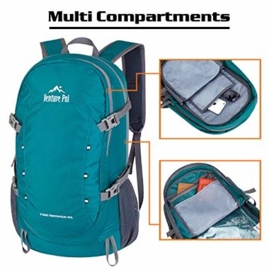 Venture Pal Waterproof Laptop Backpack