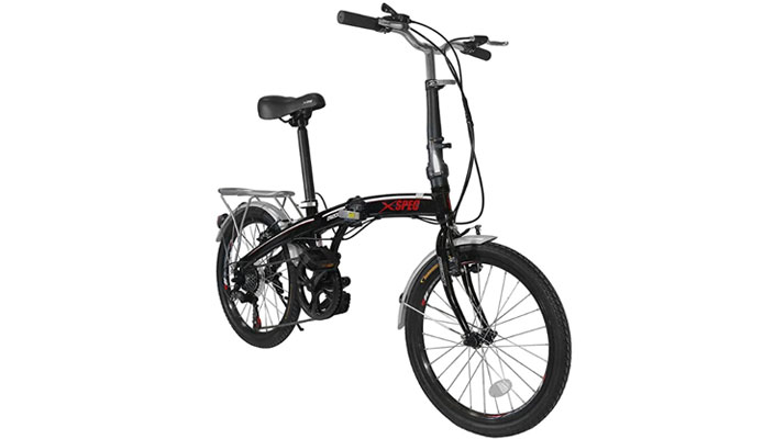 Xspec Folding Urban Compact Commuter Bike