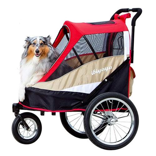 Ibiyaya Single or Multiple Dog Bike Trailer