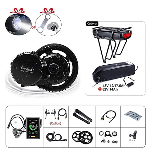 BAFANG Mid Drive Motor Electric Bike Conversion Kit
