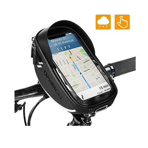 Opamoo Waterproof Storage Bike Phone Mount