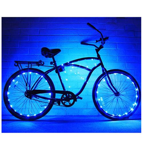N&M Products 2 Pack Bike Wheel Lights