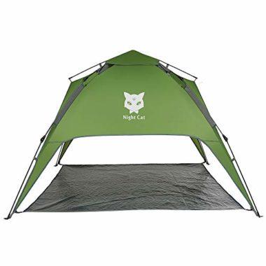 Night Cat 1-4 Person Pop Up Waterproof Tent