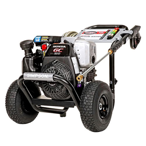 Simpson Cleaning Megashot Gas Powered Pressure Washer