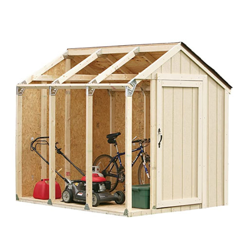 2x4Basics Custom Peak Roof Kit Bike Shed
