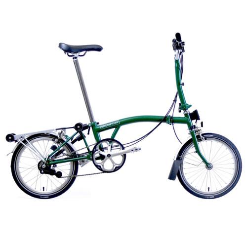 Brompton M6R Folding Bike