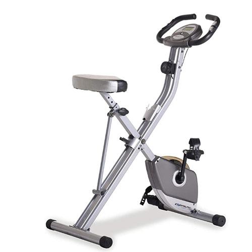 Exerpeutic Upright Folding Exercise Bike