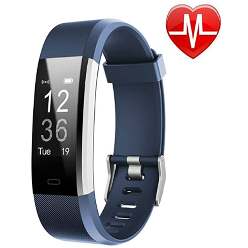 LETSCOM Waterproof Fitness Activity Heart Rate Monitor